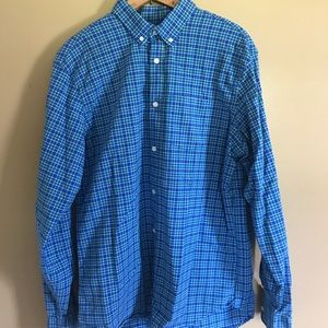 Slim fit old navy button down.